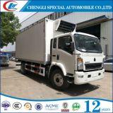 Carro refrigerado 10ton de la capacidad de Sinotruk para la venta