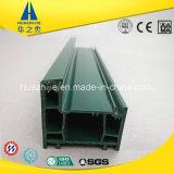 Profil de la couleur verte UPVC de Hsp60-01t pour Windows et des portes