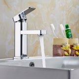 De cobre amarillo Polished escogen el grifo y el mezclador del cuarto de baño de la maneta