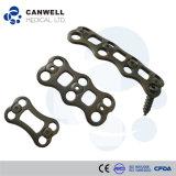 De Medische Voorafgaande Cervicale Plaat van Canwell, de Cervicale Platen van het Titanium en Schroef