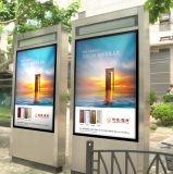 65inch de openluchtLCD Digitale Signage Kiosk van het Scherm van de Aanraking van de Tribune van de Vloer