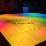 단계 당 결혼식 디스코 빛 1mx1m 기본적인 버전 RGB LED 디지털 댄스 플로워