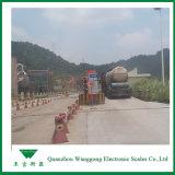 Маштабы тележки завода цемента Scs 120t электронные