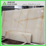 Белое Onyx с Glod Veins Marble Tile