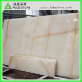 Weißes Onyx mit Glod Veins Marble Tile