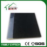 Schwarze akustische Glasfaser-Decken-Fliese