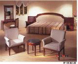 Jogo de madeira da mobília do quarto da mobília do hotel da mobília do carvalho
