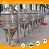 使用された安いステンレス鋼の円錐ジャケットの発酵槽タンク価格