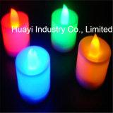 Color que cambia las velas del LED para la promoción