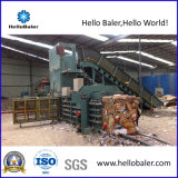 Automatische Altpapier-Ballenpresse, die Maschine mit hydraulischer Presse gurtet