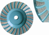 다이아몬드 알루미늄 기초를 가진 가는 컵 바퀴