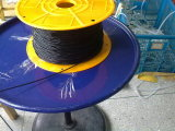 Cabo do silicone do produto comestível, listra do silicone, perfil do silicone, extrusão do silicone (3A1004)