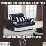 ヨーロッパデザイン居間の純粋な革ソファーの家具(LZ-069)