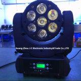 7 bewegliches Hauptträger-Licht PCS-12W RGBW 4in1 LED für Stadiums-Disco mit Cer RoHS