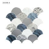 Mosaico decorativo di vetro macchiato dello specchio degli strati delle mattonelle della cucina di qualità superiore