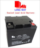 12V38ah Rechargeable UPS Valve Regulated Sealed Lead Acid Battery