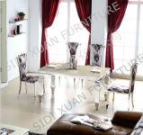 Aço inoxidável que janta a cadeira européia moderna minimalista do restaurante do casamento do hotel da cadeira (CY016)