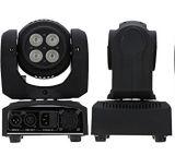 4X40W RGBW 두 배 측은 무한한 자전 이동하는 맨 위 빛을 세척한다