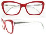 Mujeres de moda de acetato de gafas con ce y la FDA