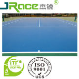 Diez color al aire libre Pista de tenis Deporte revestimiento de superficie