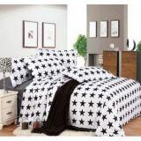 Conjunto de cama de algodão para hotel / casa com conjunto de edredon