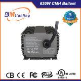 Onda cuadrada 630W CMH Lastre electrónico con aprobado UL
