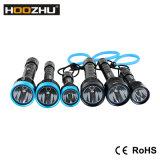 Свет Макс 1000lm подныривания Hoozhu D12 делает электрофонарь водостотьким 120m водостотьким СИД