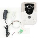 Обеспеченность беспроволочного дверного звонока телефона двери камеры иК видеоего WiFi дистанционного Rainproof домашняя