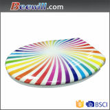 Dekorative UV-Beständige, keine Farbe verblassen Toiletten-Sitz mit schönem Muster