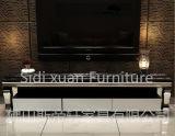 Lijst van Woodern van de Tribune van TV van het Glas van het Meubilair van het Huis van de luxe de Modieuze Hoogste