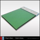 深緑色またはカラーまたは建物のフロートガラス