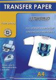 Carta da trasporto termico della maglietta del getto di inchiostro di Jetworld (luce ed oscurità)