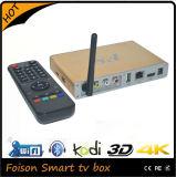 인도 채널 IPTV 상자 Kodi 16.0 O 4k 알루미늄 IPTV 상자를 가진 2016 지능적인 텔레비젼 상자