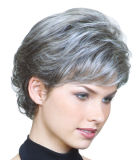 Kurzes Haar-Perücke-Fabrik-Preis-synthetische volle Spitze-Perücke