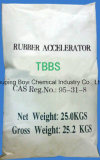 aceleradores de goma TBBS (NS) de la bolsa de papel 25kg/Kraft