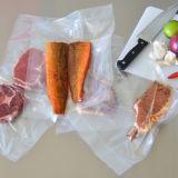 PA/PE Co-Sacó película tubular para el empaquetamiento al vacío del alimento