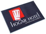 Высокое Definition Printed Nylon Logo Mat, с Strong Rubber Back