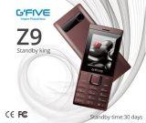 """FCC duelle de la CE de SIM du téléphone fondamental 2.4 de grand de batterie de Gfive Z9 long de téléphone cellulaire de téléphone mobile téléphone en attente de caractéristique """" diplôméee"""