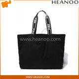 مصمّم بسيطة رخيصة أسود متسوّقة [توتس] وكبيرة شاطئ حقائب