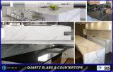 Künstlicher Quarz-Stein-feste Oberflächenstab-Oberseiten für Küche