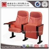 Assento do auditório do cinema do braço da madeira contínua (NS-WH228)