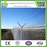 Sale caldo Galvanized Chain Link Fence per Factory