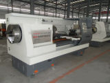 CNC roscado de tubos Máquina horizontal CNC Torno (QK1325)