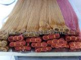 Tessuto diritto serico dei capelli umani di 100%