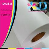100GSM completa Sticky Sublimación de papel