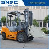 Block-Schelle-Dieselgabelstapler 3tons
