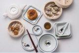 Плита меламина голубая и белая Tableware/меламина глубокие/Dinnerware (D5210)