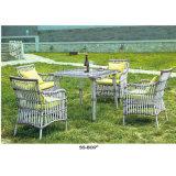 Muebles al aire libre con el patio