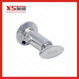 Válvula sanitária da amostra de Vsn da solda do aço inoxidável