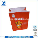 Sac de papier assurément d'aliments de préparation rapide de qualité et de quantité